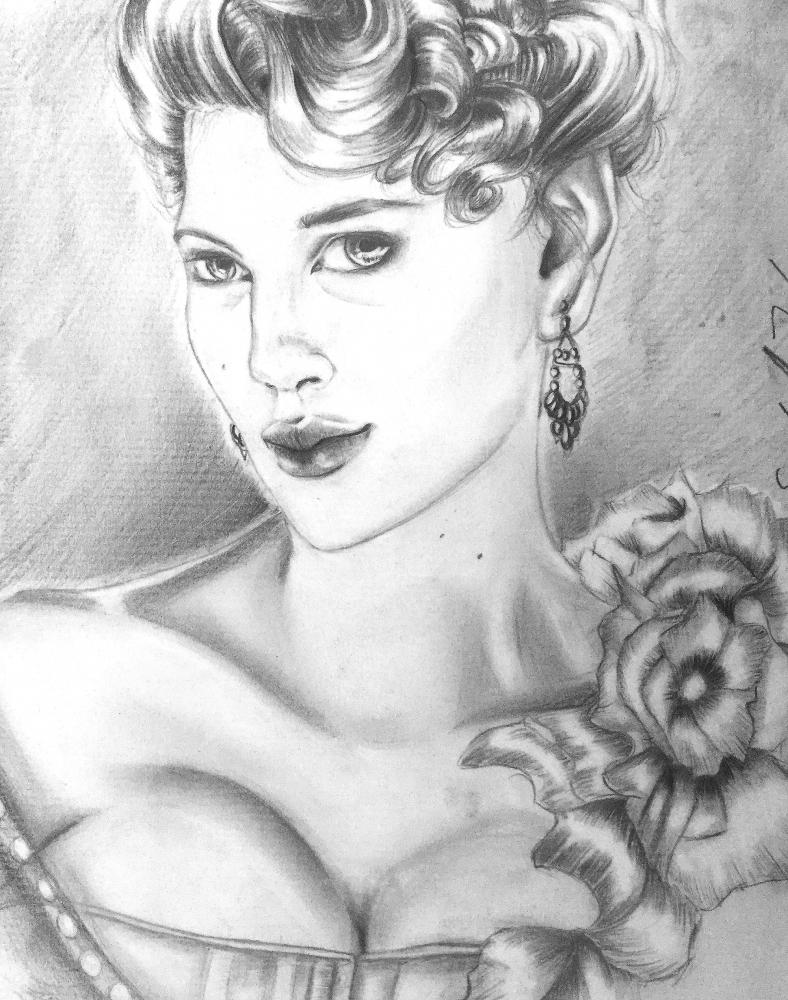 Scarlett Johansson by Janeireland
